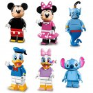 Custom Mouse Duck Cartoon Minifigures Compatible Lego Minifigures Series 18