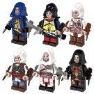6pcs Assassins Creed Minifigure Lego Compatible Toys Kids Gift Idea