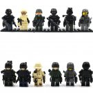SWAT Special Force Policeman Compatible Lego SWAT Minifigures