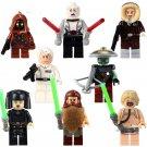 Luke Skywalker Luminara Solo Snowman Freeze Compatible Lego Star Wars Minigures