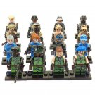 Military sets Anti-terrorism leader minifigure Lego Compatible Toy
