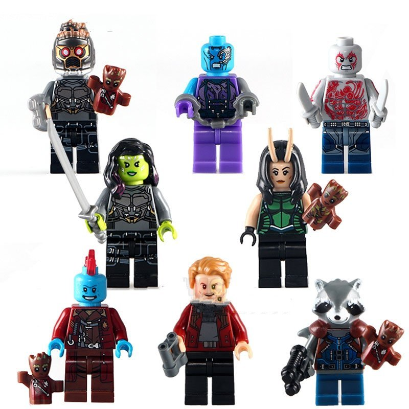 Guardians of the Galaxy Groot minifigures Lego Compatible Toy