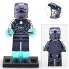 Iron Man Chrom Blue MK16 Super Heroes Minifigure Lego Compatible Toys