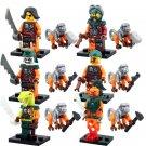 Cyren Doubloon Nadakhan Minifigures Lego Compatible Toys,Ninjago sets