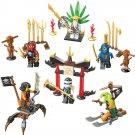 Ninja Zane Wu Kai JAY Skylor Minifigure Lego Compatible Toy