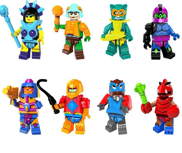 Comic set He-Man and the Masters of the Universe minifigures