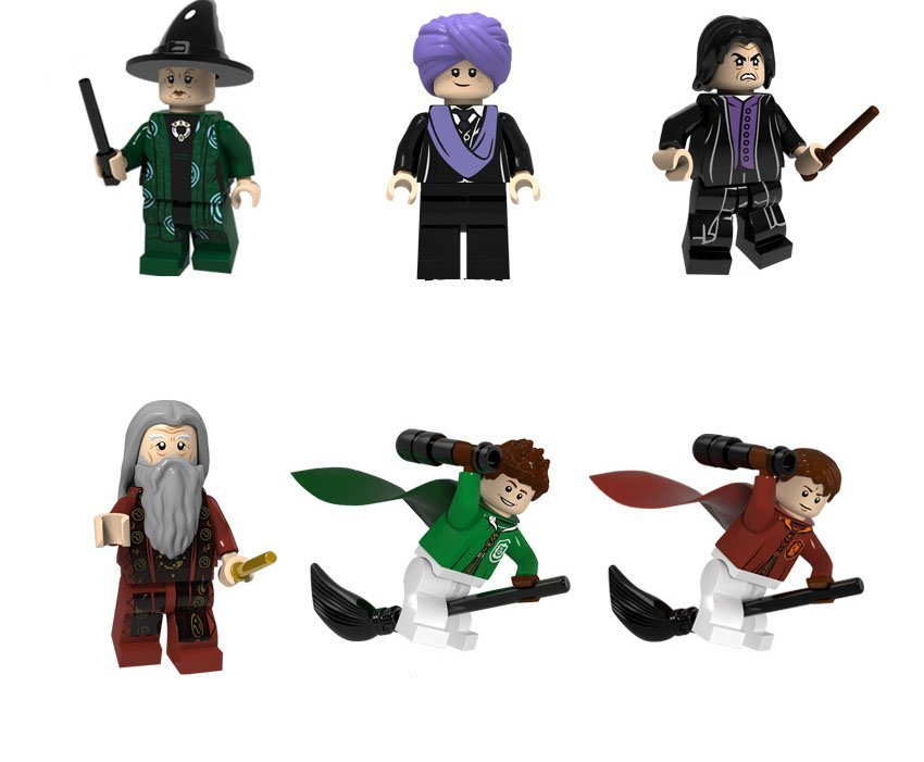 1981bfce1 Professor Quirinus Quirrell Severus Snape Minifigures Compatible Lego Toy Harry  Potter
