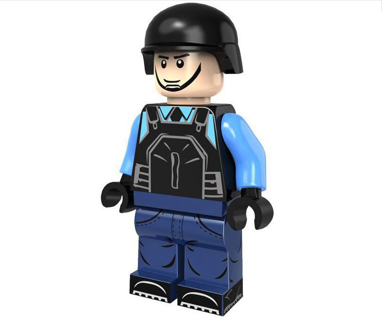 City Police Minifigures Compatible Lego City Building Block Toy