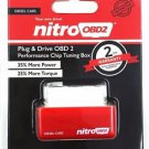 Nitro OBD2 Performance Power Tuning Box Chip Plug Drive For Diesel Car NitroOBD2