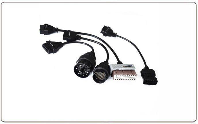 8 Car Cable Set For Autocom OBD2 VCI Diagnostic Tool DS150E OBDII AUDI OPEL FIAT