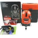 Laser Level 5 Lines 6 Point Dots Cross 360 Degree Rotary with TiltOutdoor Mode