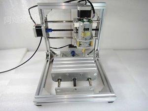 Mini DIY CNC Mill Router Kit 150W USB Desktop Wood Engraver PCB Milling Machine