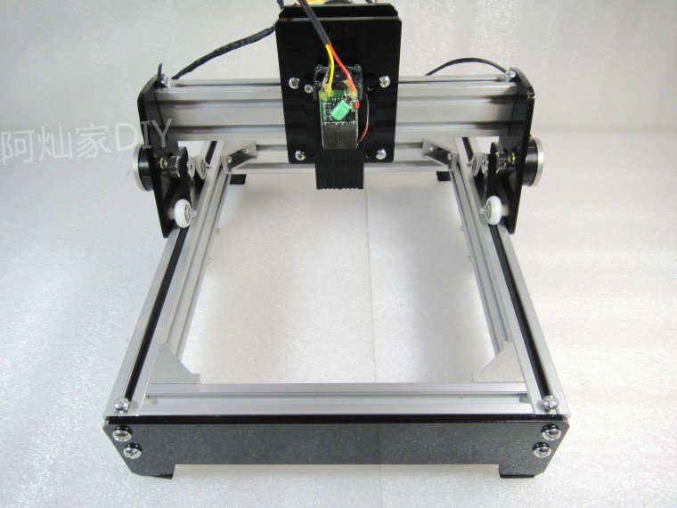 10W USB Laser Wood Cutting CNC Engraving Machine Printer Metal Steel Iron Stone