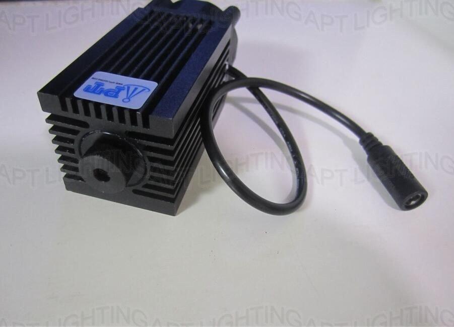 2800mw Blue Laser Head Adjustable 445nm 450nm CNC Engraver Part Diode 2.8w Dot
