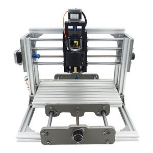 3 Axis Mini CNC Milling Machine Engraving DIY Router Kit + 2500mw Laser Engraver