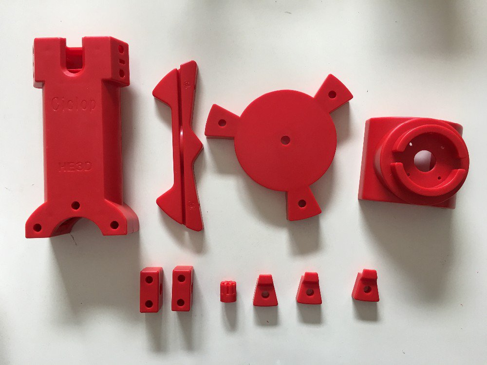 Injection Molding Parts For Ciclop Scanner DIY 3D Scaning Kit For Reprap Printer