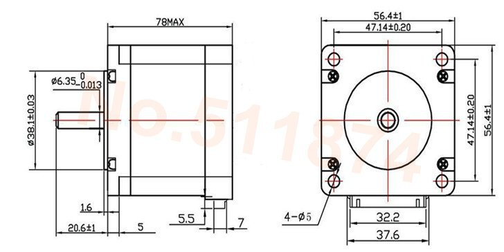 3Axis CNC Plasma Milling Machine Engraver Kit Nema 23 Motors+TB6560 Driver Board