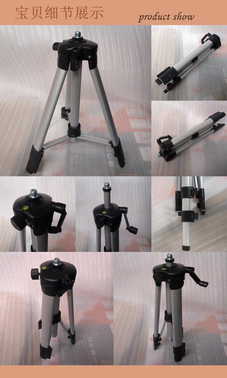 1.1m Aluminum Tripod For Laser Level or Camera Adjustable Stand Adjust Cam 110CM