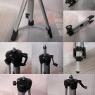 1.1m Aluminum Tripod For Laser Level or Camera Adjustable Stand Adjust Cam 110CM