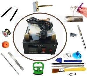 """7"""" LCD Screen Separator Machine w/ Vacuum Pump+Tablet Cell Phone Repair Tool Kit"""