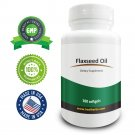 Real Herbs Flaxseed Oil (Cold Pressed) 1000mg - 100 Softgels