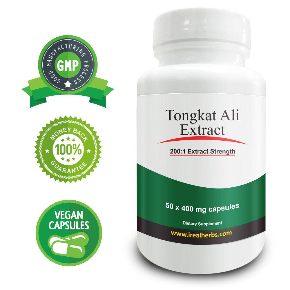 Real Herbs Tongkat Ali Extract PE 200:1 - Equal to 80000mg of Tongkat Ali Powder