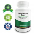 Real Herbs - White Kidney Bean Extract Supplement - 60 X 750mg Softgel Capsules