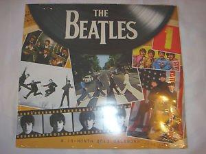 Beatles 16-Month 2013 Calendar Rare HTF SEALED