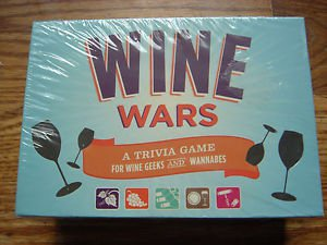 NEW Wine Wars Trivia Game For Wine Geeks And Wannabes Fun Drinking Game