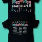 MAROON 5 / ADAM LEVINE - 2013 NORTH AMERICA CONCERT TOUR T-SHIRT / SZ. S