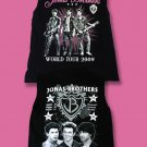 THE JONAS BROTHERS - WORLD TOUR 2009 CONCERT TOUR T-SHIRT *NEW*  / SIZE SMALL
