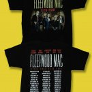 FLEETWOOD MAC - ON WITH THE SHOW 2014-2015 WORLD CONCERT TOUR T-SHIRT / L