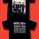 "BON JOVI - 2001 ""ONE WILD NIGHT"" CONCERT TOUR T-SHIRT / SZ. XL"