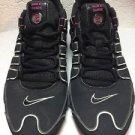 Women's Black/Pink Nike Shox Size 11