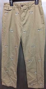 Polo Ralph Lauren Boys Size 12 khaki PANTS Flat Front
