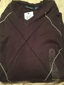 NEW Nautica Mens Size XL Pullover Sweater NWT