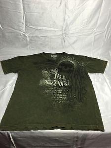 men's MMA Elite skull shield  t-shirt UFC martial arts  Size XL EUC