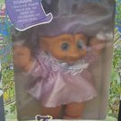 "Trolls Ace Treasure Troll Tots Doll 14"" w/Belly Button Wishstone NIB"