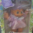 "Trolls Ace Treasure Troll Tots Doll 14"" w/Belly Button Wishstone NIB"