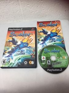 Scaler Playstation 2 Game PS2 2004 Complete Black Label Rare