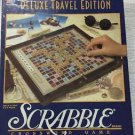 Vintage 1990 DELUXE Travel Edition Scrabble - Hardwood Tiles - NEW