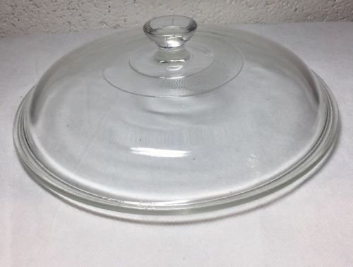 "Rival Crock Pot Slow Cooker Replacement Part Pyrex #408 8"" or 8 3/4"" Glass Lid"
