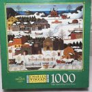 Charles Wysocki's Americana Hickoryhaven In Winter 1000 Piece Jigsaw Puzzle