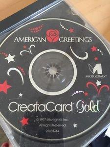 American Greetings CreataCard Gold (PC, 1997)