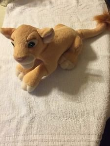 Vintage Mattel Disney The Lion King Simba's Pride Plush Lion 1998