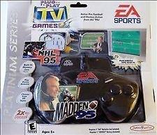 New EA Sports John Madden 95 NFL NHL Plug & Play TV Genesis Super Nintendo Games