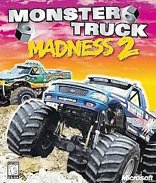 Microsoft Monster Truck Madness 2 PC CD-1998 MS game for Windows 95/NT In Box