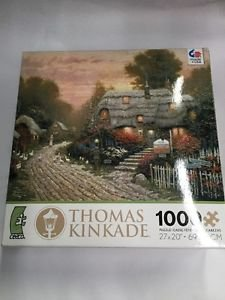 CEACO THOMAS KINKADE JIGSAW PUZZLE Olde Porterfield Tea Room 1000 PCS #3310-25