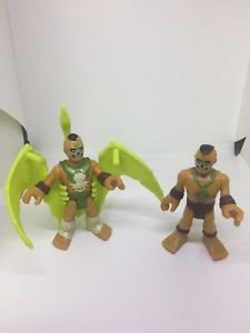 Fisher Price Imaginext Ultra T-Rex Figures Lot of Two