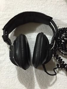 Vintage Sony DR-7 Over Ear Stereo Headphones